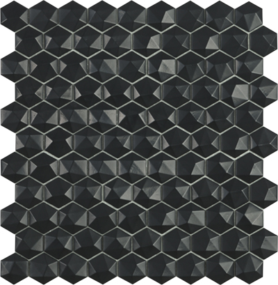 Ref. 903 D Matt Black Hex