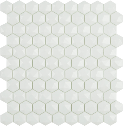 Ref. 910 D Matt White Hex