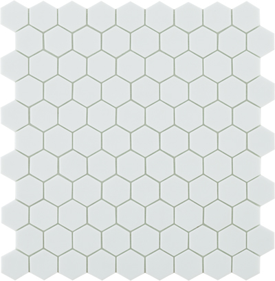 Ref. 910 Matt White Hex
